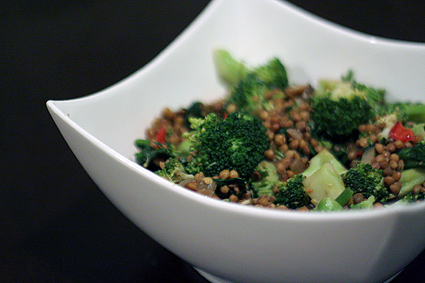 Recipes broccoli salad with beans