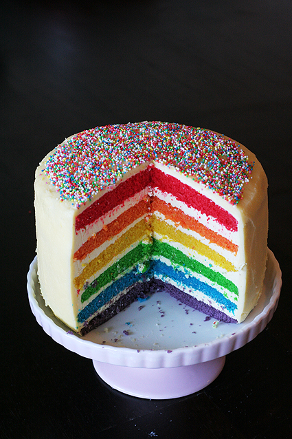 What Food Colouring To Use For Rainbow Cake