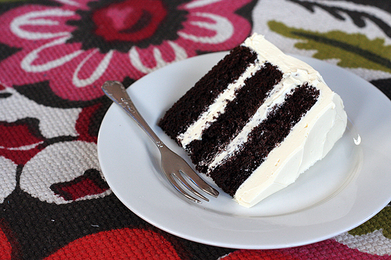 Chocolate Cake With Swiss Meringue Ercream Frosting