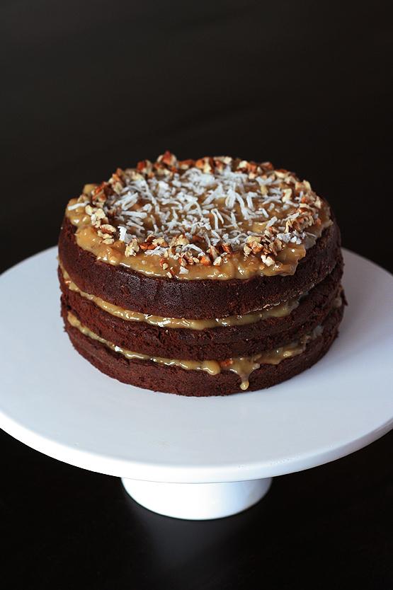 German Chocolate Cake Recipe Katies Kitchen Blog